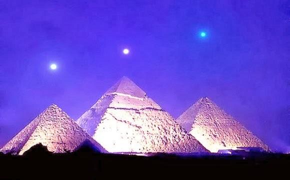 Pyramid & Orion